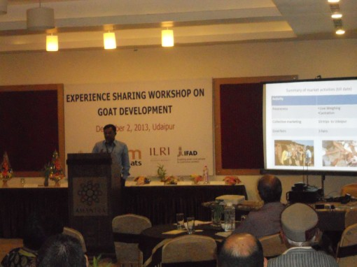 BG Rathod presents at workshop in Rajasthan